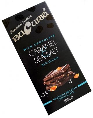 CIOC. BUCURIA cu caramelă și sare de mare (31% cacao) 1/100